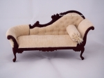 The Elizabeth Chaise by Bespaq in Walnut