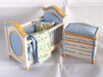 Dollhouse Miniature Nurseries and Carriages