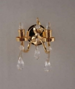 Crystal Sconce W 4