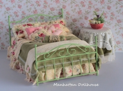 Mayfair Bed by Seena Johnson