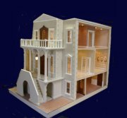 The Palace Dollhouse Exterior Component Kit