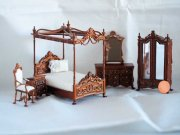 Bespaq Versailles Bedroom Set-Half Inch