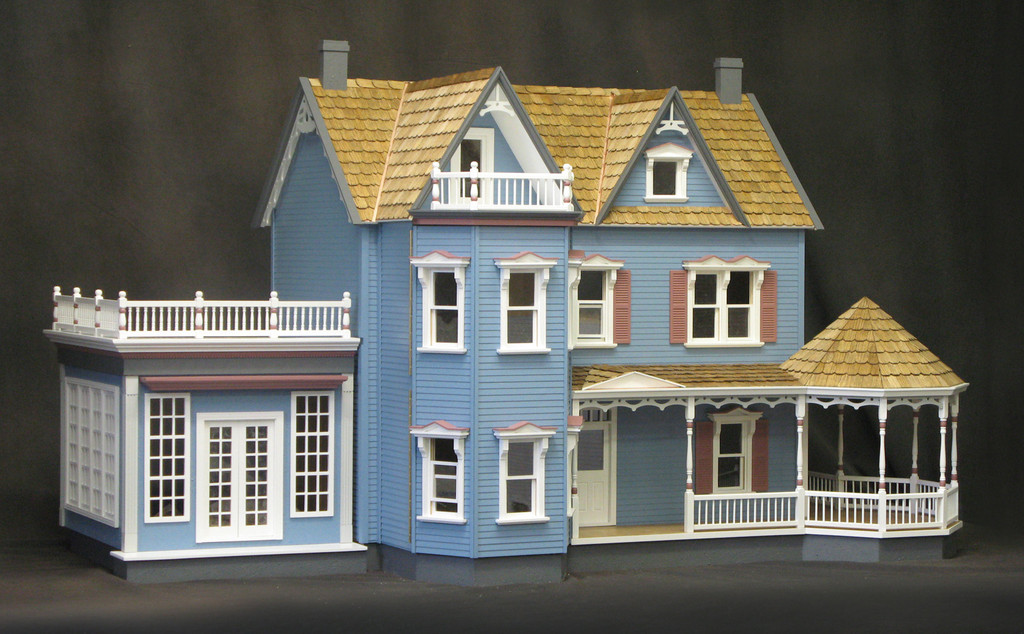 Harborside mansion dollhouse kit mm 1769 64000 manhattan harborside mansion dollhouse kit solutioingenieria Choice Image