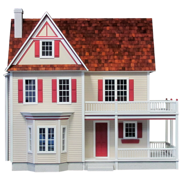 Victorias Farmhouse Dollhouse Kit Click To Enlarge