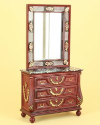 The Antoinette Console and Mirror