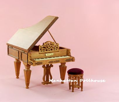 Miniature Piano by Bespaq Bespaq Miniature Baby Grand Piano [2646 ...