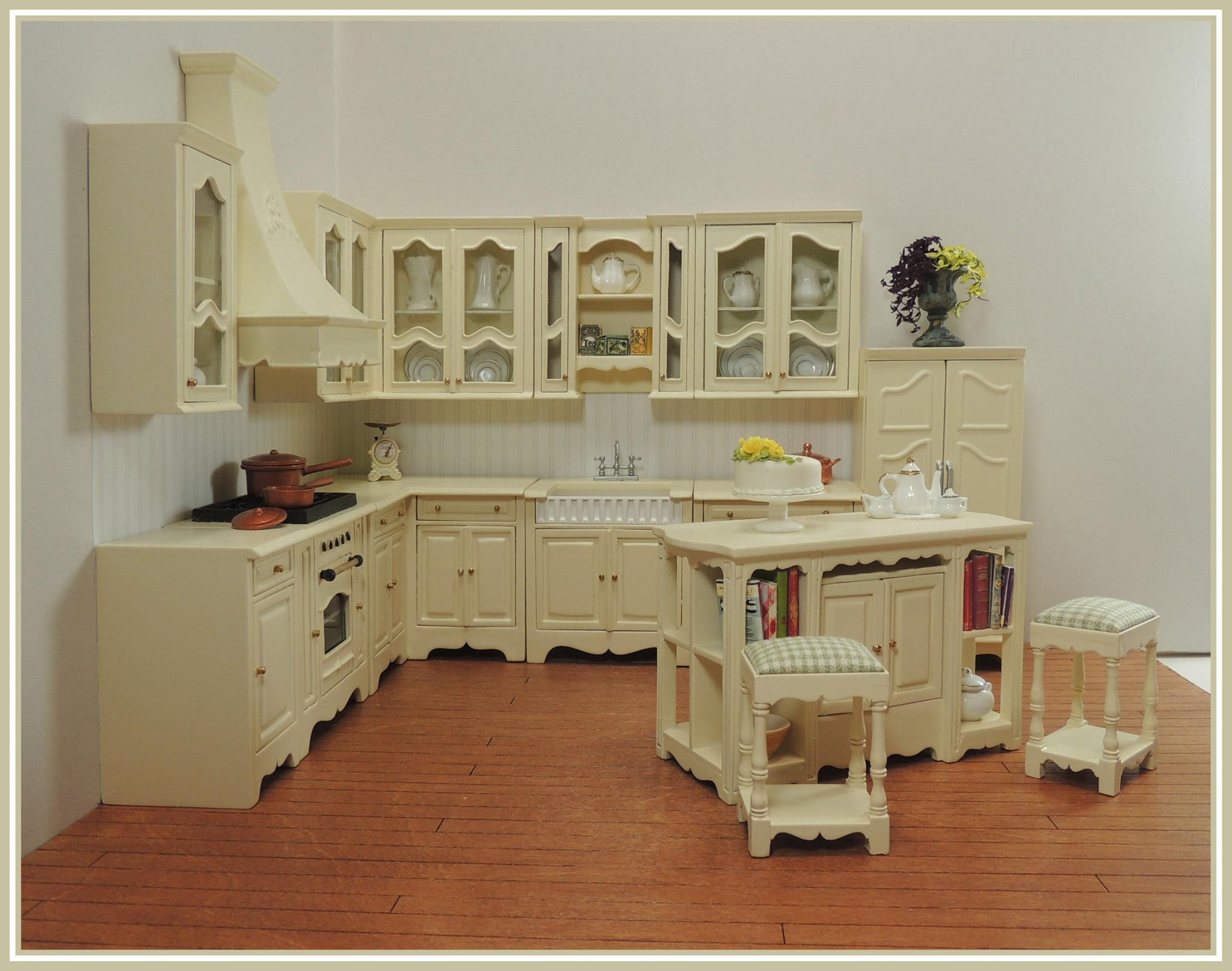 click to enlarge - Dollhouse Kitchen