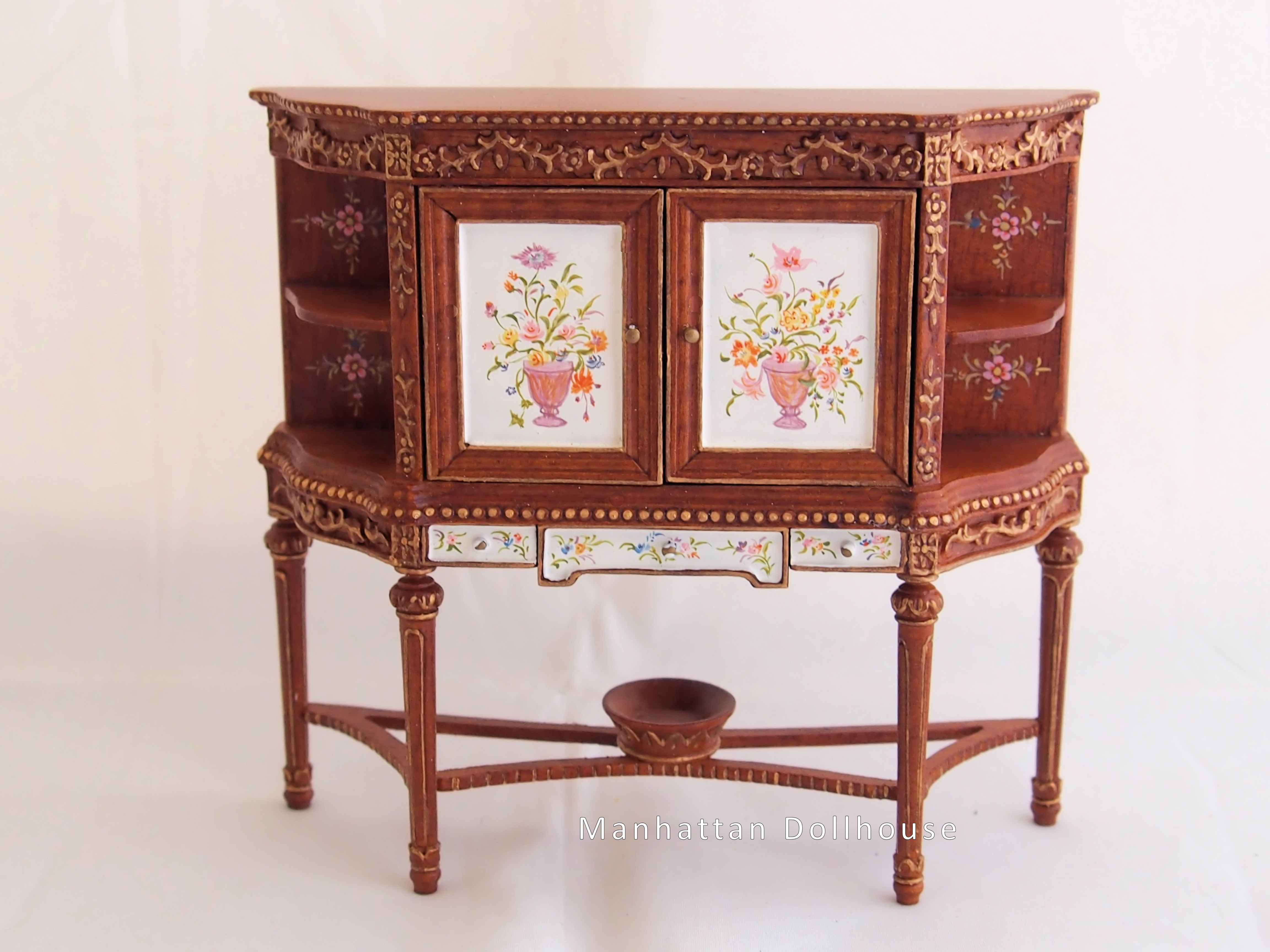 Hand-Painted Miniature Cabinet [HA CA042] - $97.00 : Manhattan ...