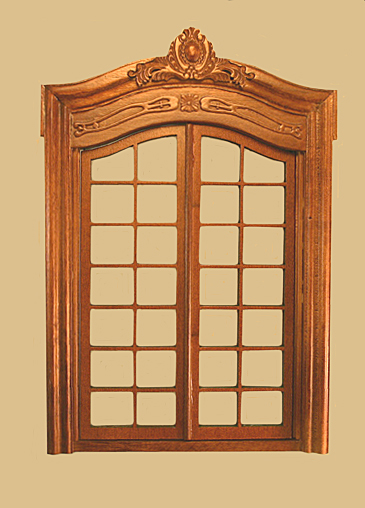 Pollinade French Double Interior Dollhouse Door click to enlarge & Pollinade French Double Interior Dollhouse Door [838NWN.] - $46.99 ...