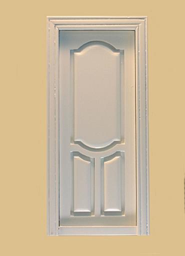 Stannford Interior Dollhouse Door in White click to enlarge & Stannford Interior Dollhouse Door in White [801WO] - $20.90 ...