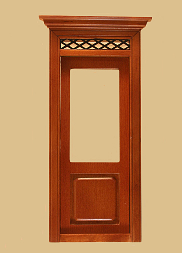 Westfield Exterior Dollhouse Door in Walnut click to enlarge  sc 1 st  Manhattan Dollhouse & Westfield Exterior Dollhouse Door in Walnut [803NWN.] - $25.65 ... pezcame.com