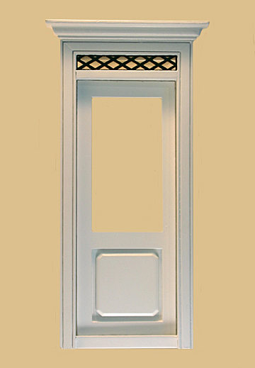 Westfield Exterior Dollhouse Door in White click to enlarge & Westfield Exterior Dollhouse Door in White [803WO] - $25.65 ... pezcame.com