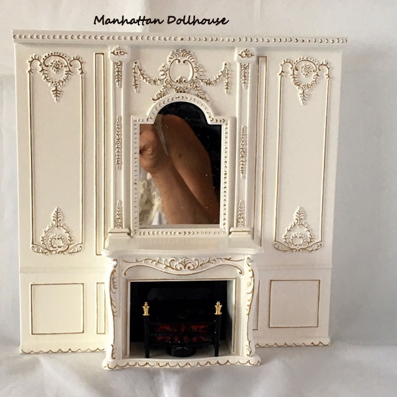 wall units with fireplace. Fancy White Wall Unit with Fireplace click to enlarge  110 00 Manhattan