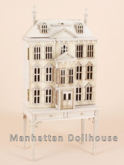 Pickering Manor Dollhouse Unpainted 144Scale