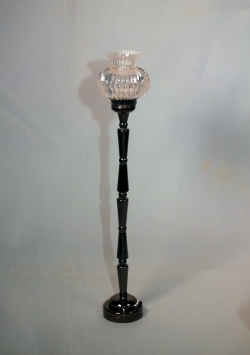 Floor Lamp with Charcoal Pole F5 BL