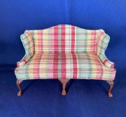 Bespaq Plaid Sofa