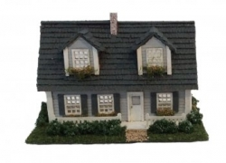 Cape Cod Dollhouse Kit 144th Scale