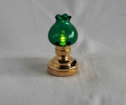 Chelsea Table Lamp with Green Shade T6 G