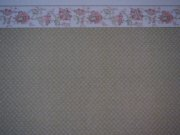 Half Inch Dollhouse Wallpaper with Border