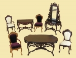 The Biltmore Dining Room Set by Bespaq in New Walnut