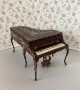 Bespaq Madeline Rose Piano in Mahogany