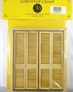 Dollhouse Louvered Closet Door