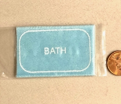 Dollhouse Miniature Bath Mats