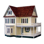 Victoria's Farmhouse Dollhouse Kit