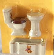Teddy Bear 3 Piece Bathroom Set