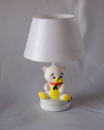 Dollhouse Teddy Bear Nursery Light-Battery Operated T25