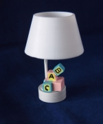 Nursery Blocks Dollhouse Light-Battery Operated T24