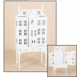 Pickering Dollhouse in White 144 Scale