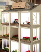 Custom Dollhouse for Flower Display