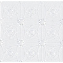 "White PVC ""Tin"" Dollhouse Ceiling Sheet"