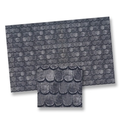 Dollhouse Slate Roof Shingles Sheet