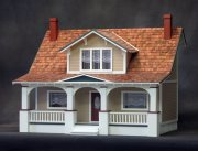Classic Bungalow Dollhouse Kit