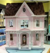 Exclusive! Built Harley Dollhouse
