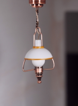 Copper Hanging Coach Lamp-C22