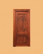 Hanover Single Door-New Walnut