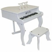 Schoenhut Fancy Baby Grand Toy Piano - 3005W