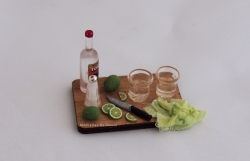 Miniature Tequilla Board Set
