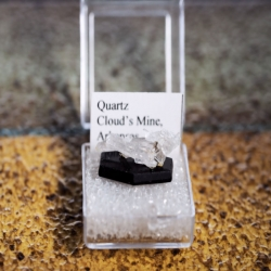 Miniature Cloud's Mine Quartz from Arkansas