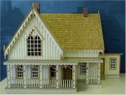 Lace House Dollhouse Kit