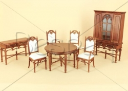 The Provencial Manor Dining Set