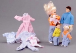 Dollhouse Family of 5