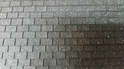 Black Sqare Asphalt Miniature Shingles