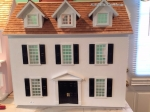 Cathy's Colonial Dollhouse-Unpainted