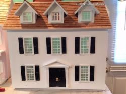 Cathy's Colonial Dollhouse Kit