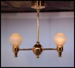 Central Park Dollhouse Ceiling Lamp-Natural Bright LED Light-C31