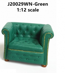Contemporary Chesterfield ARM Chair mid 1800s Green
